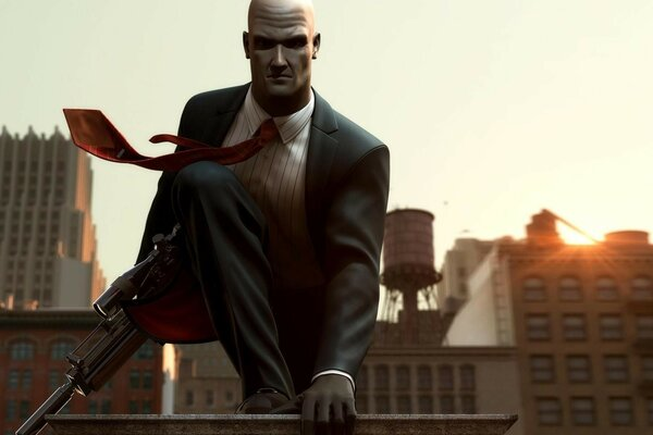 blood money Hitman Hitman 47 gun