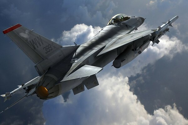Multirole Fighter Aircraft General Dynamics F-16 Fighting Falcon