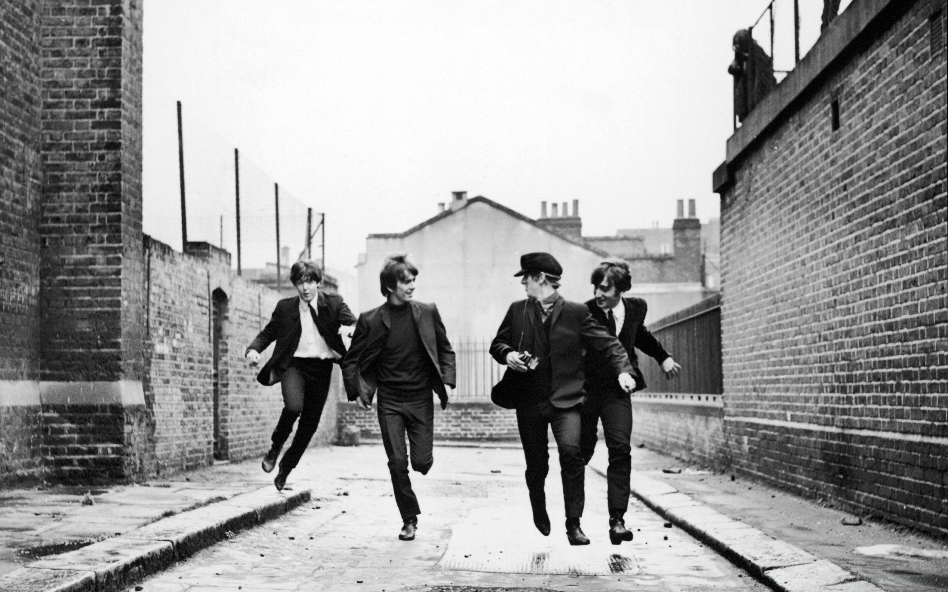 The Beatles Running IPhone Wallpapers For Free