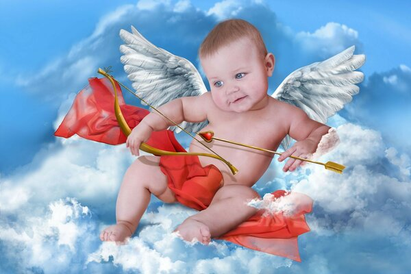 baby Cupid cloud