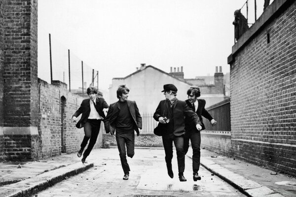 The Beatles Running