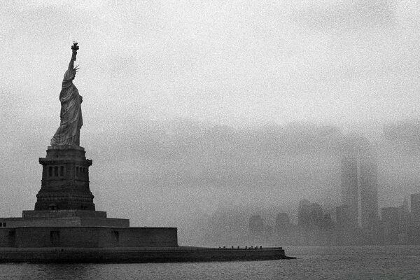 Statue Of Liberty Vintage Photography