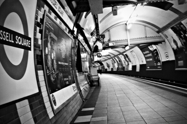 Russell Square Station - London