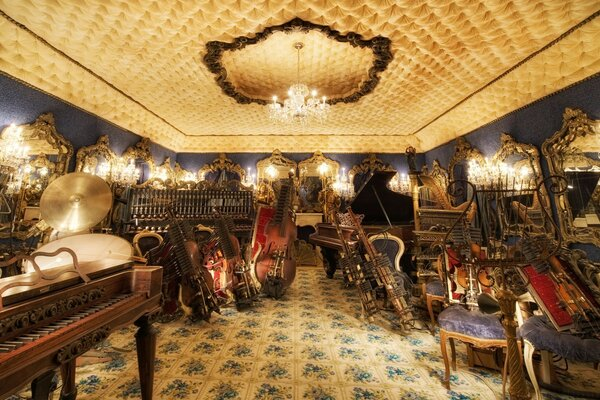The Blue Room, House On The Rock, Wisconsin