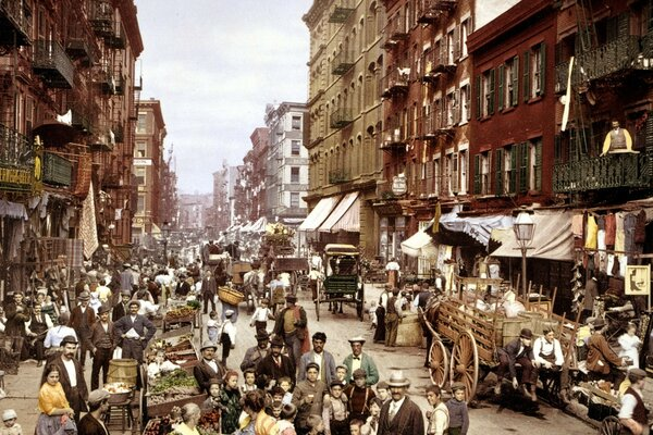 Old New York City