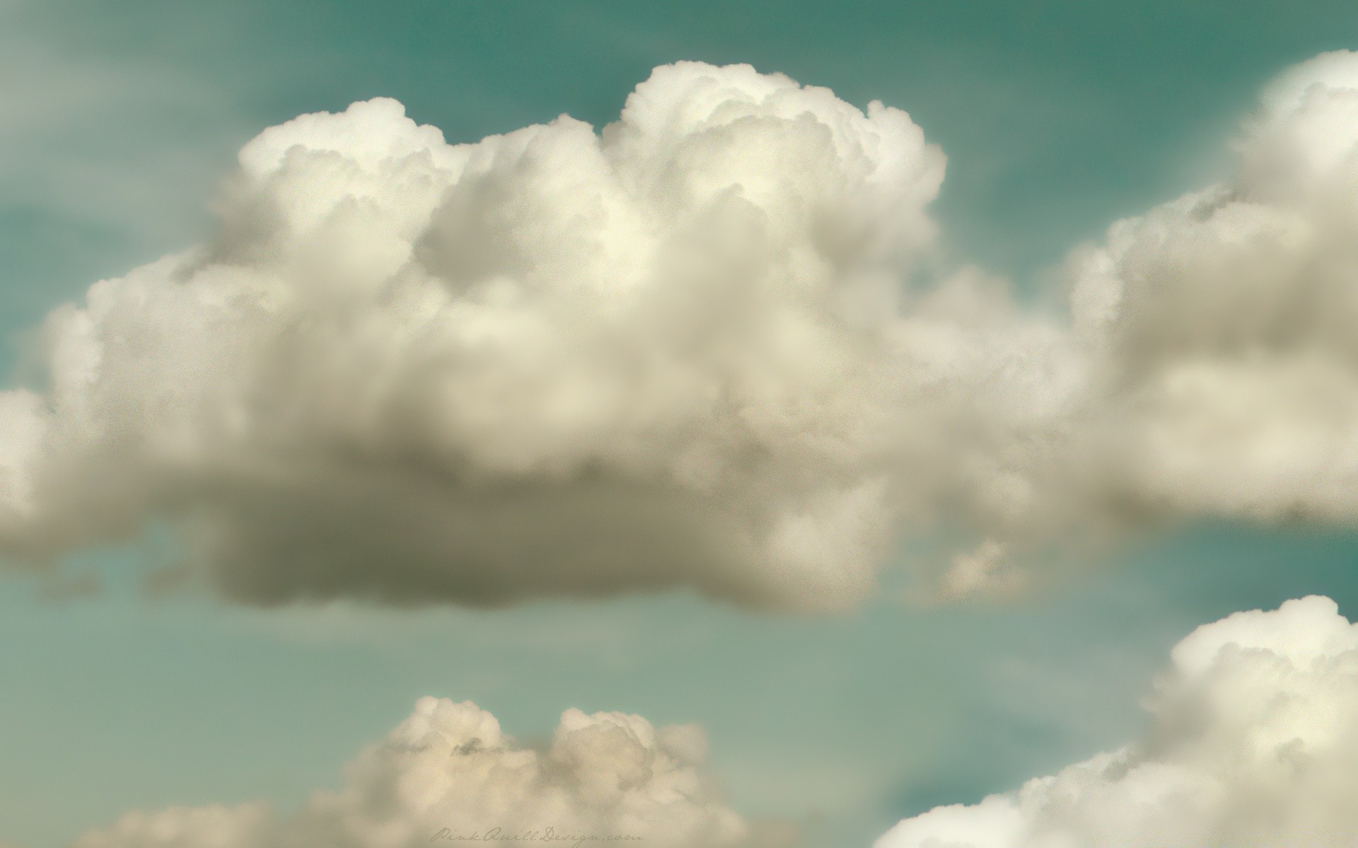 Vintage Clouds Android Wallpapers