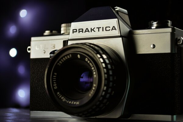 Praktica film camera
