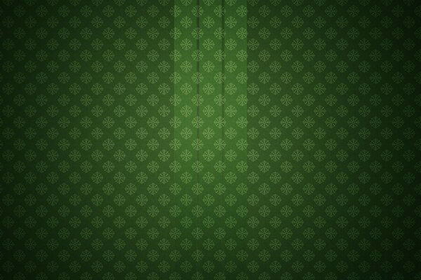 Glass On A Pattern Green