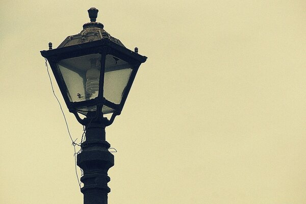 Old Street Lamp