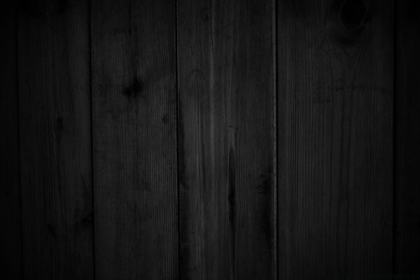 Dark Wood Wall