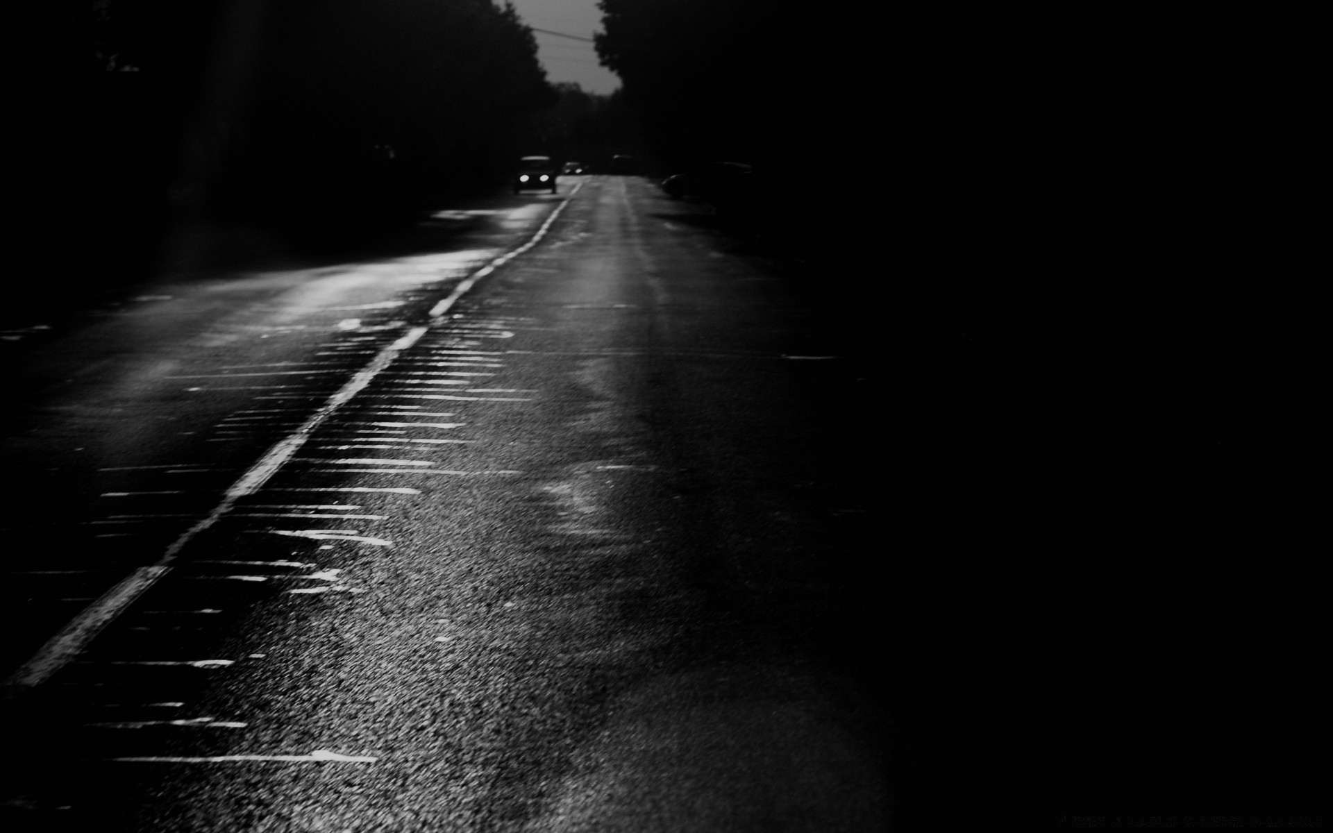 black dark street road monochrome blur light transportation system guidance asphalt travel car