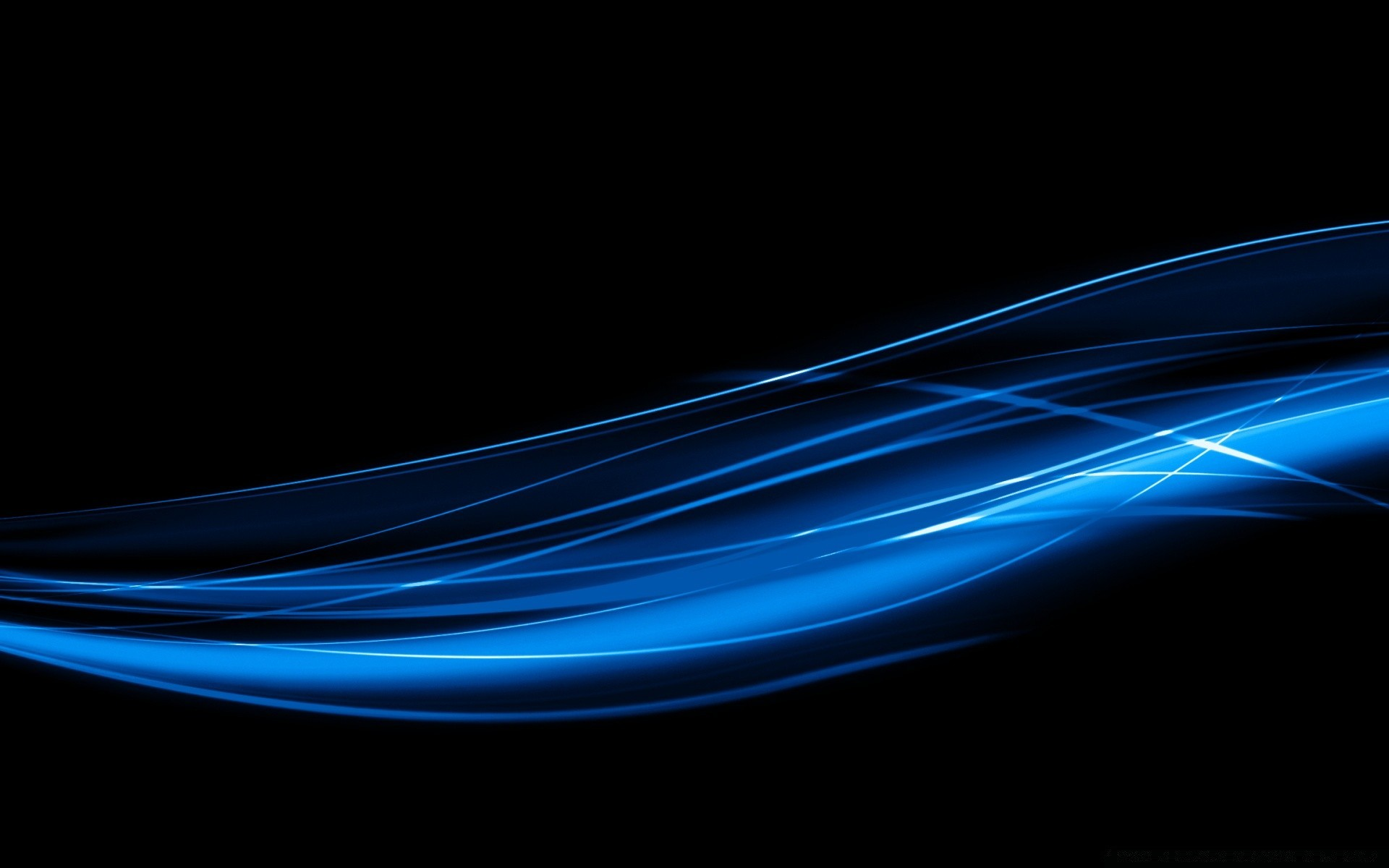 Blue Wavy Lines Phone Wallpapers