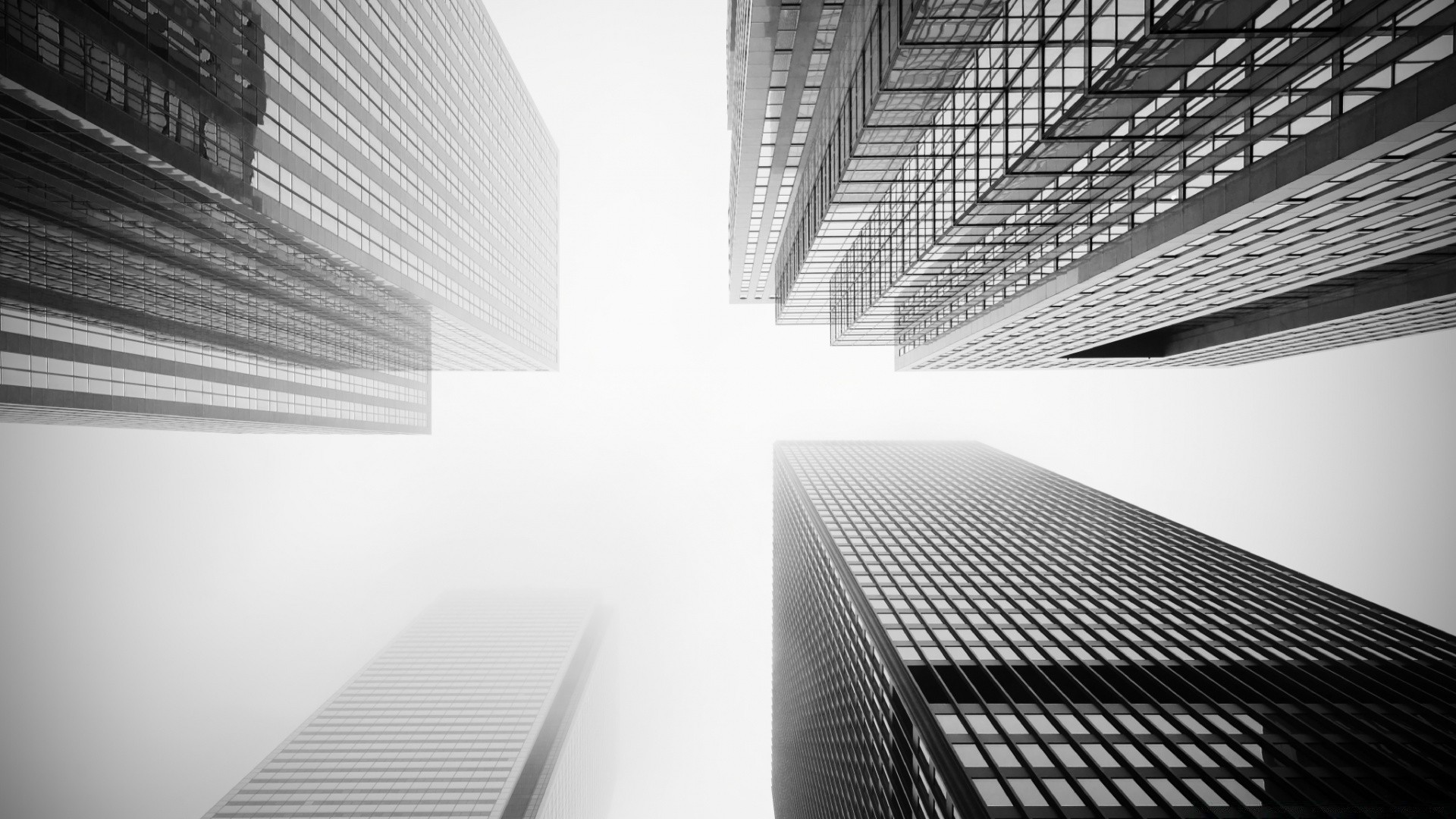 Toronto Skyscrapers Black and White - Phone wallpapers
