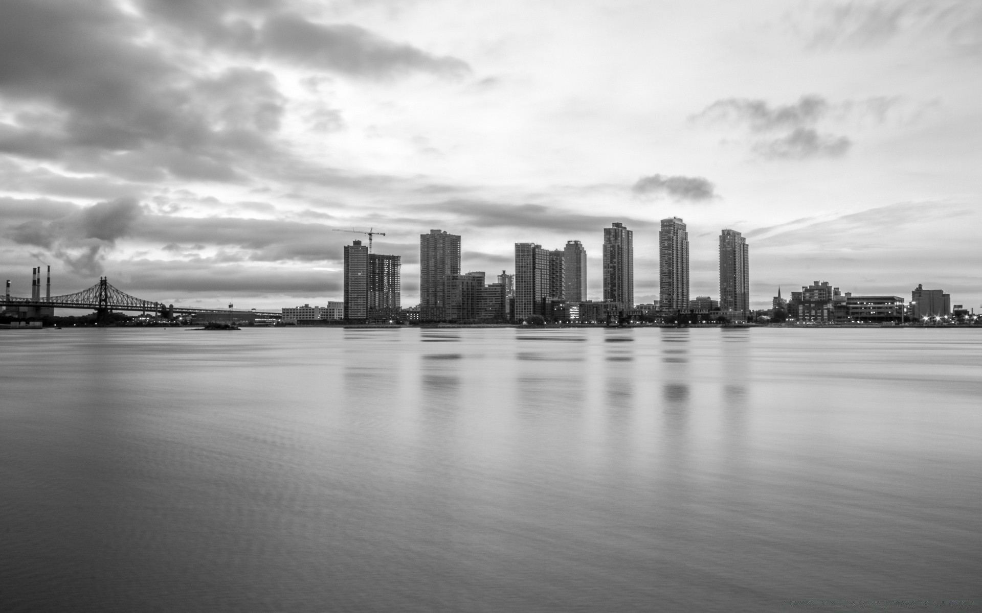 Long Island City Black And White Desktop Wallpapers For Free