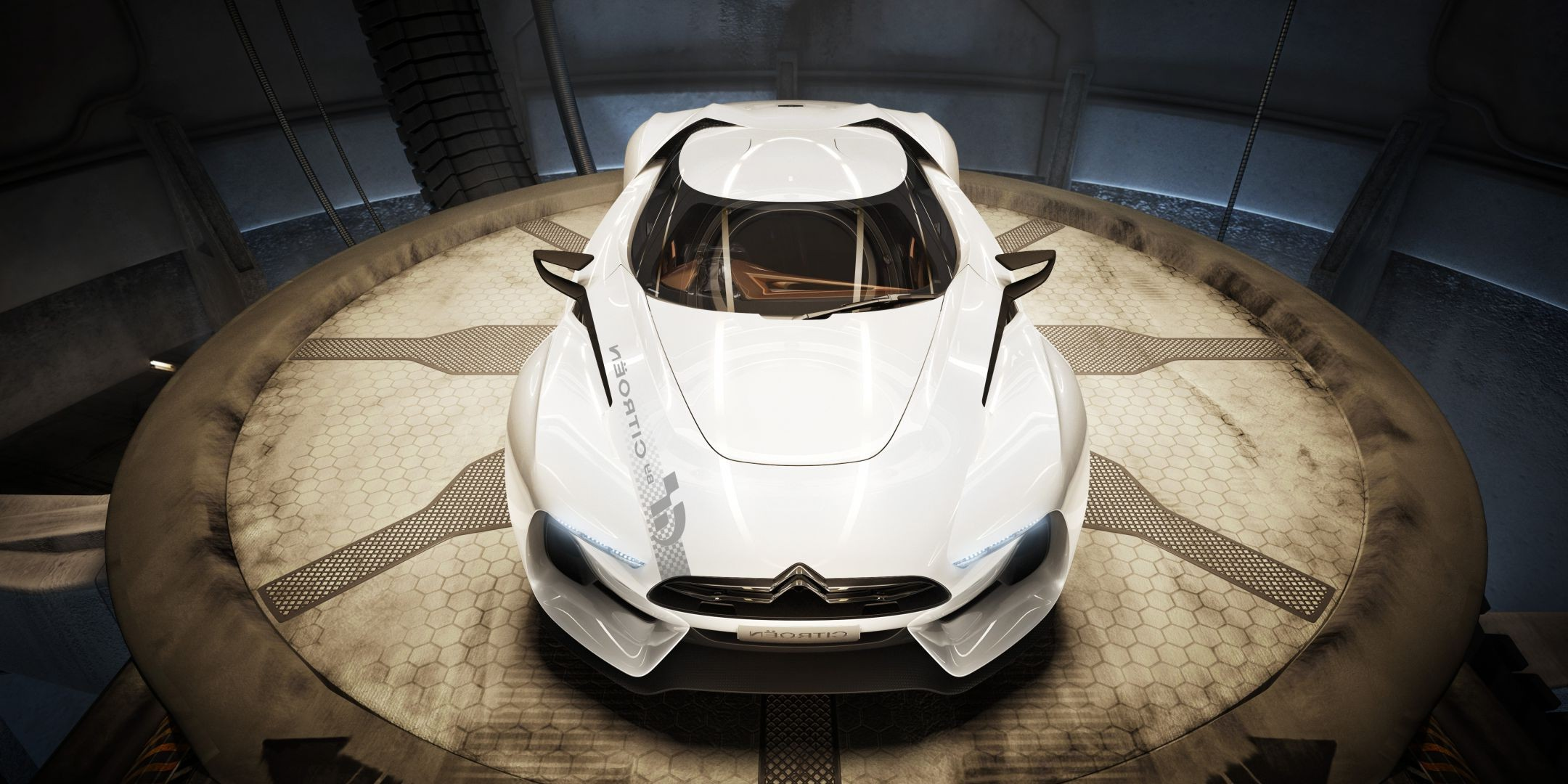 concept gt concept car cars citroen Car light