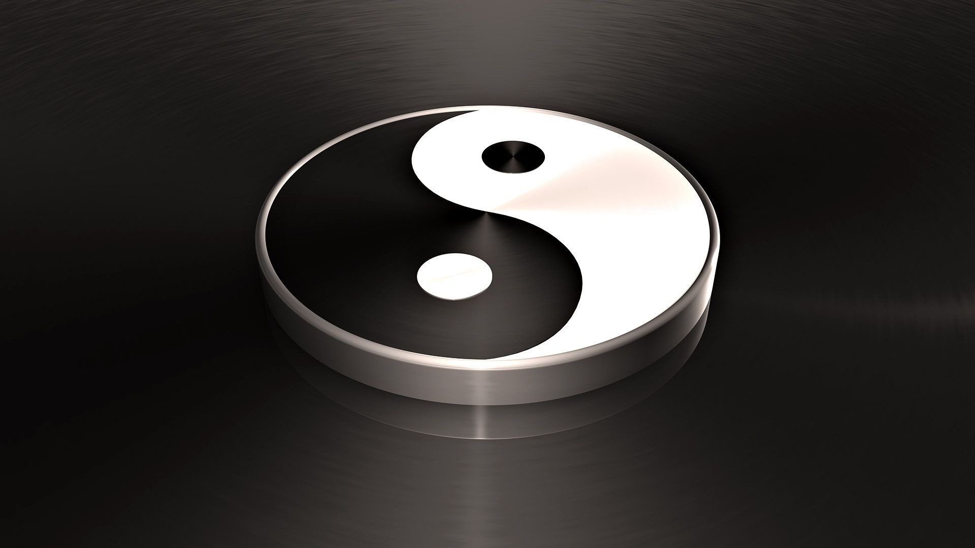 Yin Yang Black White Feng Shui Android Wallpapers For Free