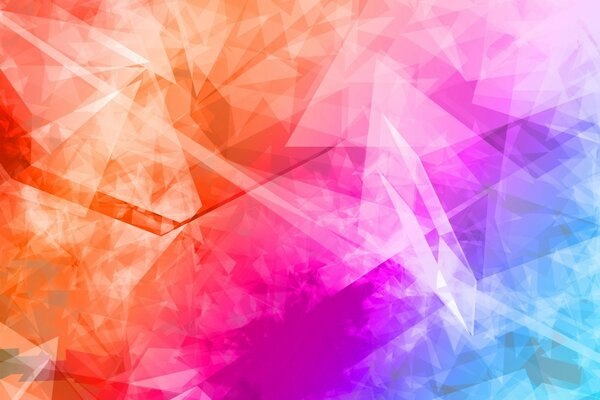 Abstract Polygonal Colorful Background