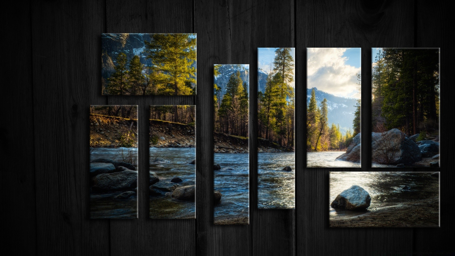 Framed Nature. Android wallpapers for free.
