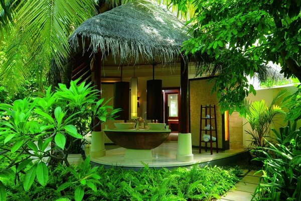 summer holiday hotel bungalows Spa