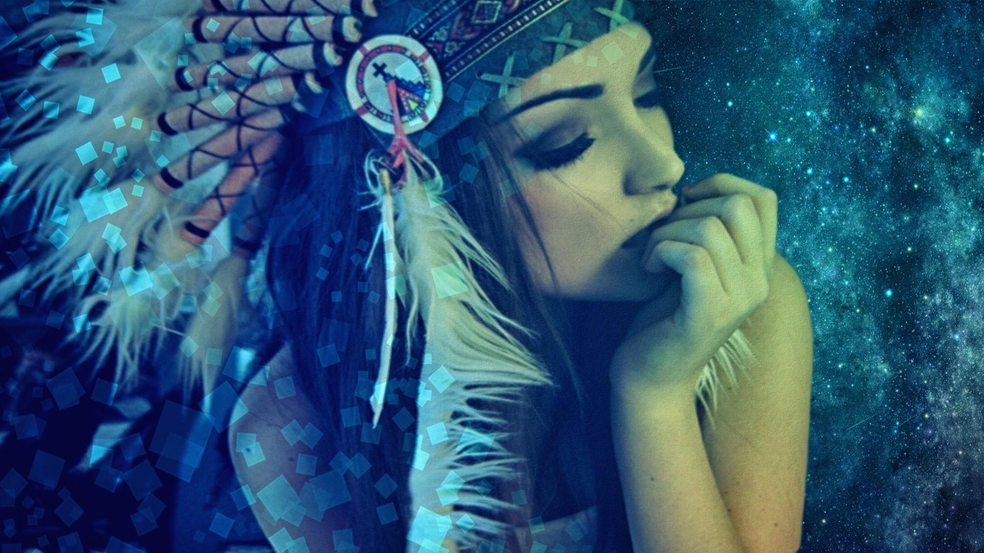 девушка индейцы скачать