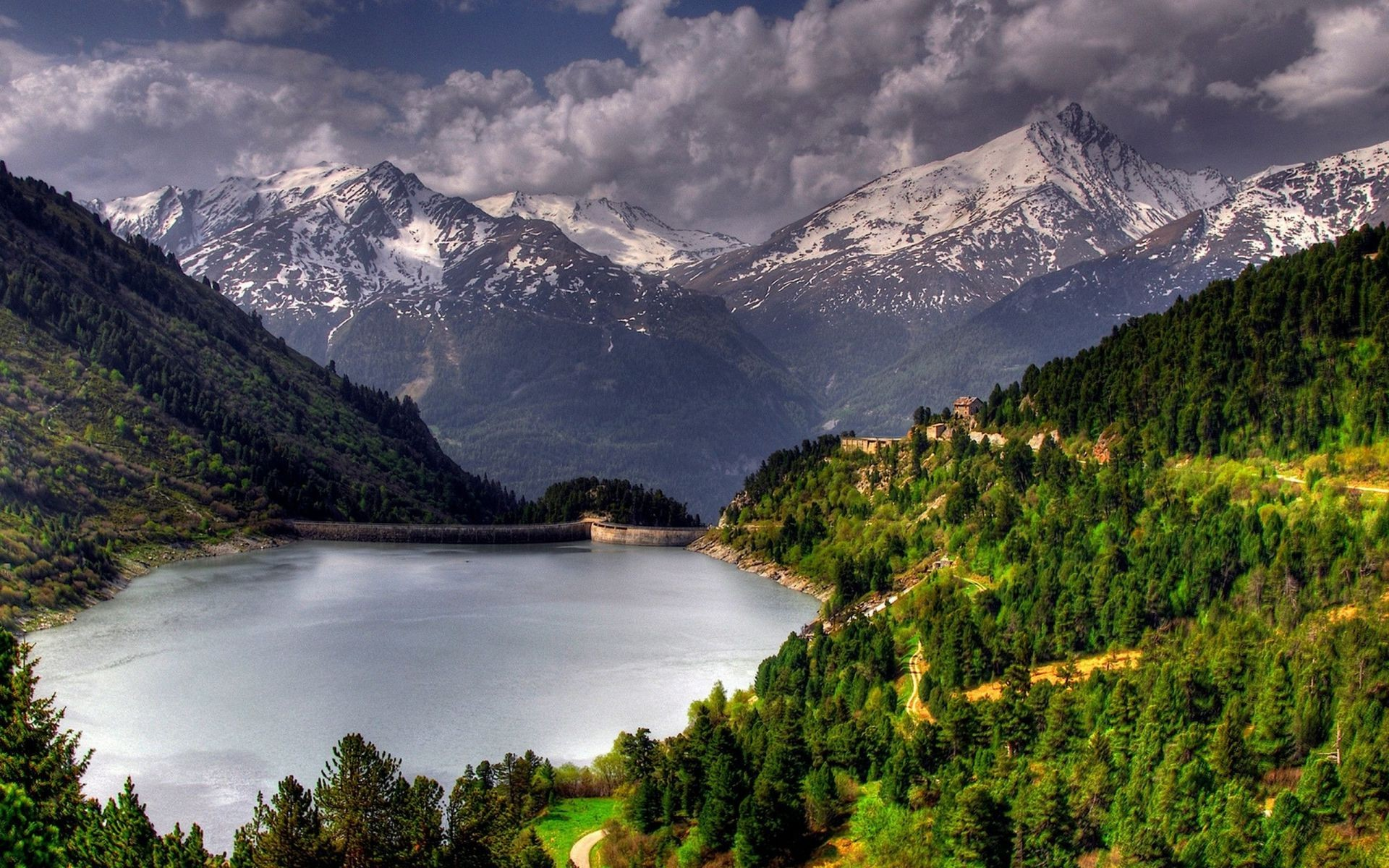 mountains mountain water travel landscape nature lake outdoors wood valley river scenic sky reflection