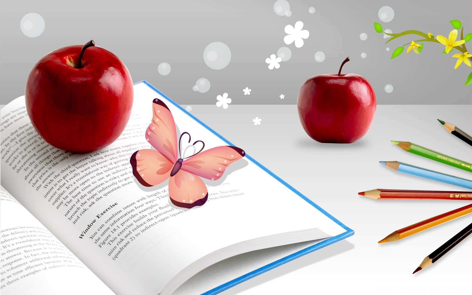 Red Apples Android Wallpapers