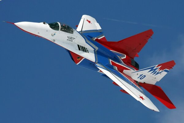 MiG-29 Strizhi fighter