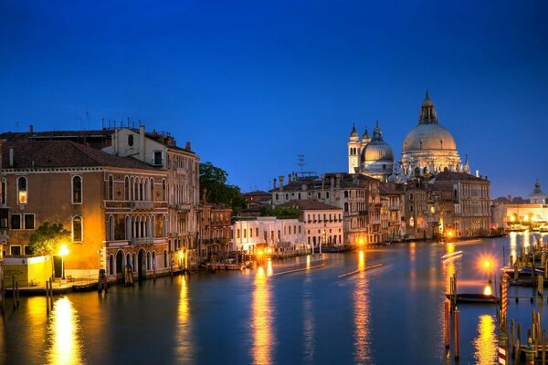 Venice Italy the Grand canal, Canal Grande, architecture house