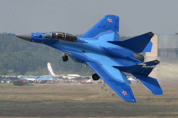 fighter super of deck-based aircraft MiG-29K