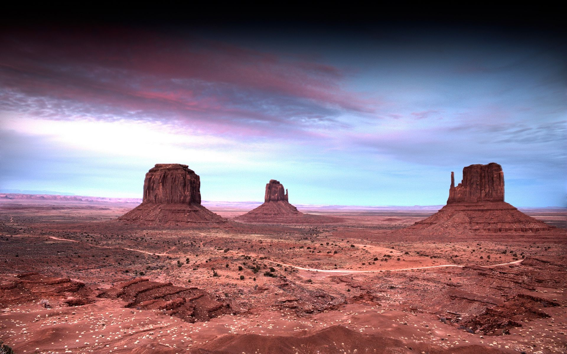 Landscape of beautiful desert rock beauty - Phone wallpapers