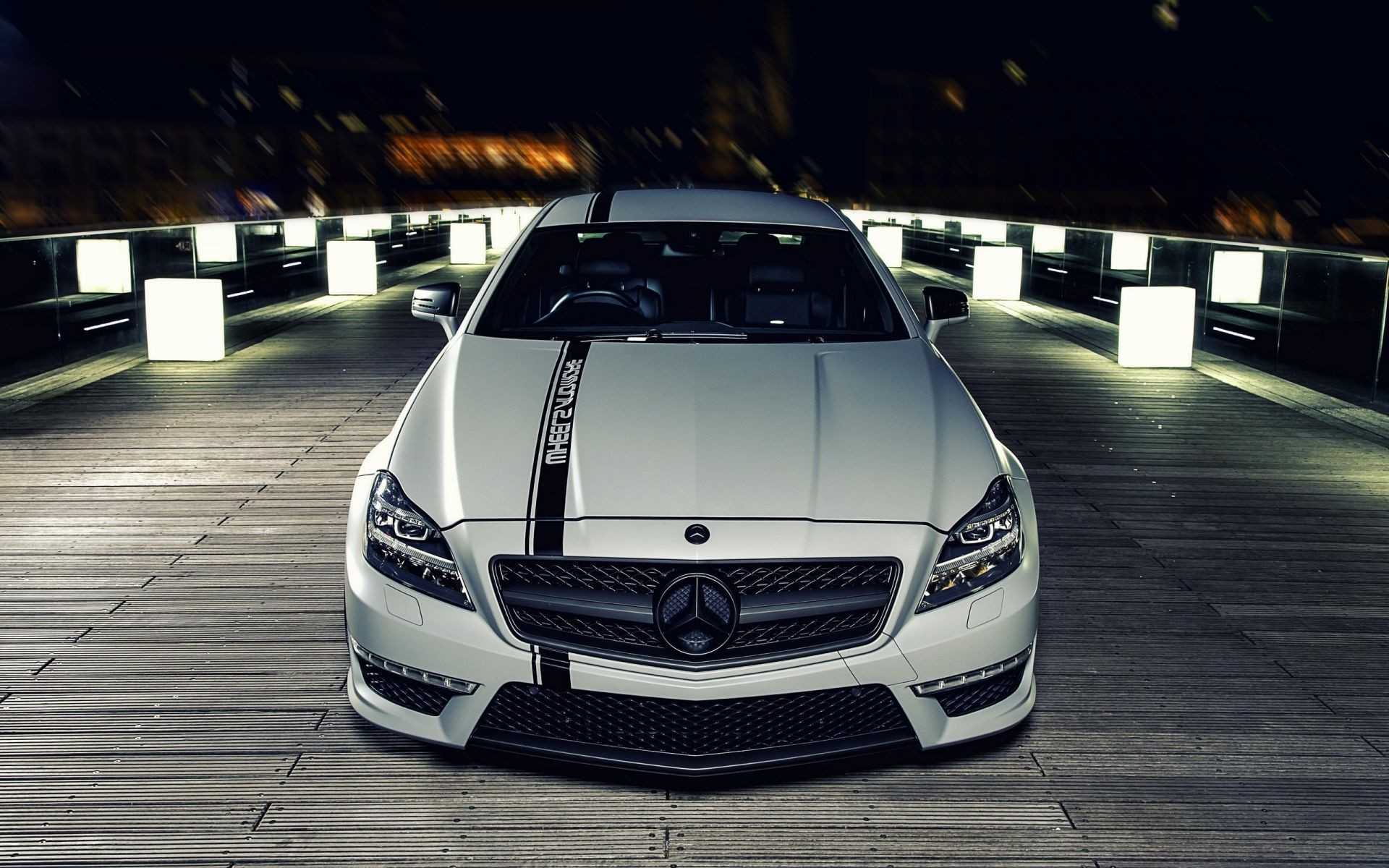 mercedes Mercedes benz cls tuning night