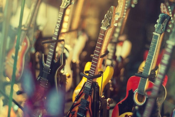 shop electric guitar music