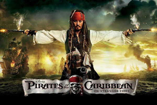 johnny depp pirates of the Caribbean 4 on stranger tides