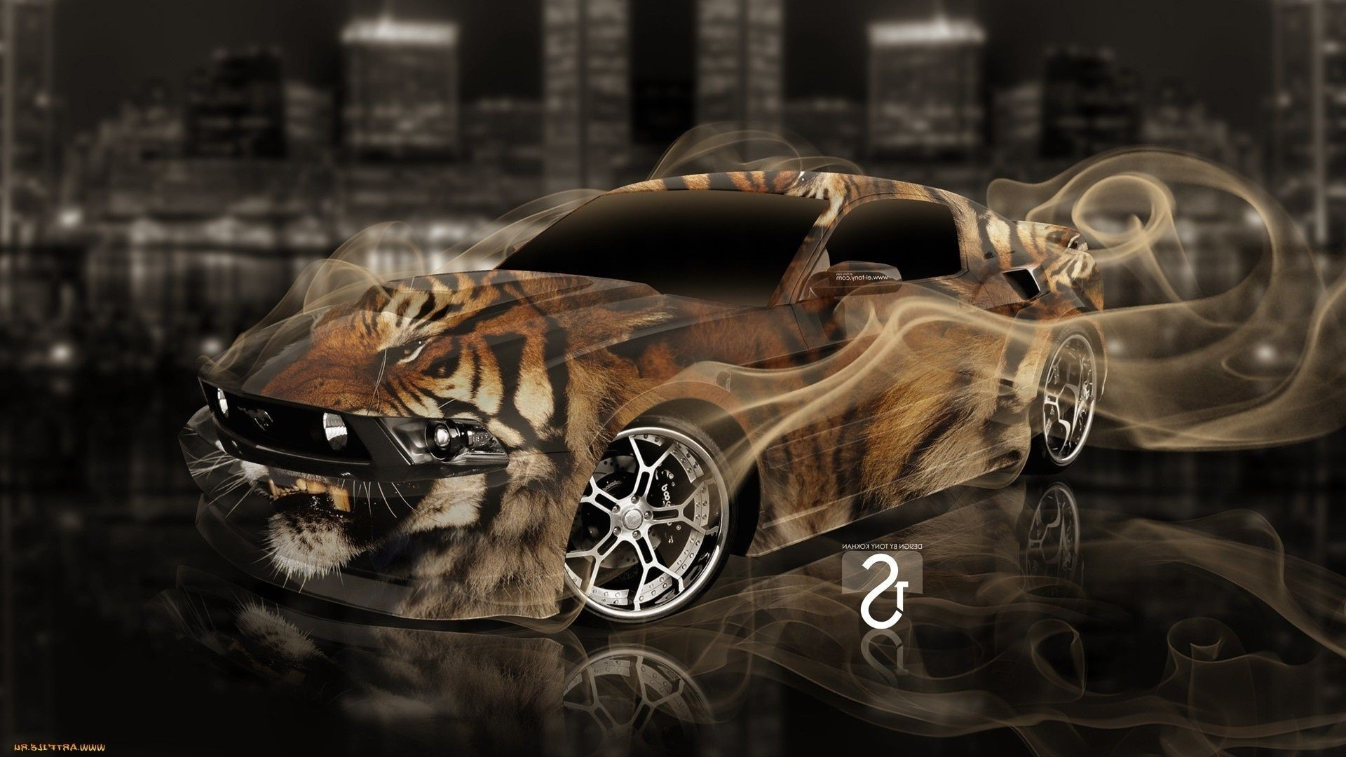 Car drawing in 3D