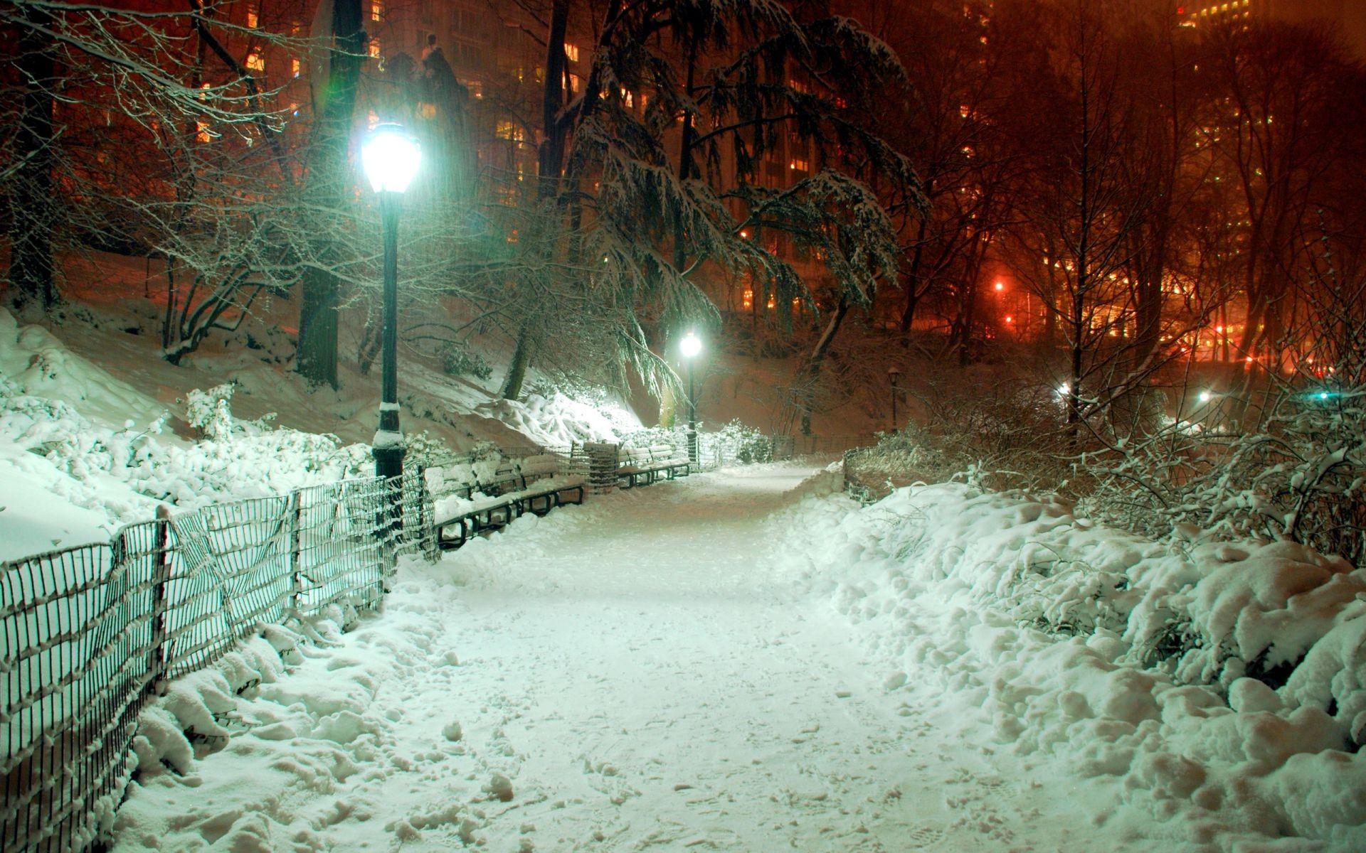 горы дом снег фонарь  № 147840 загрузить