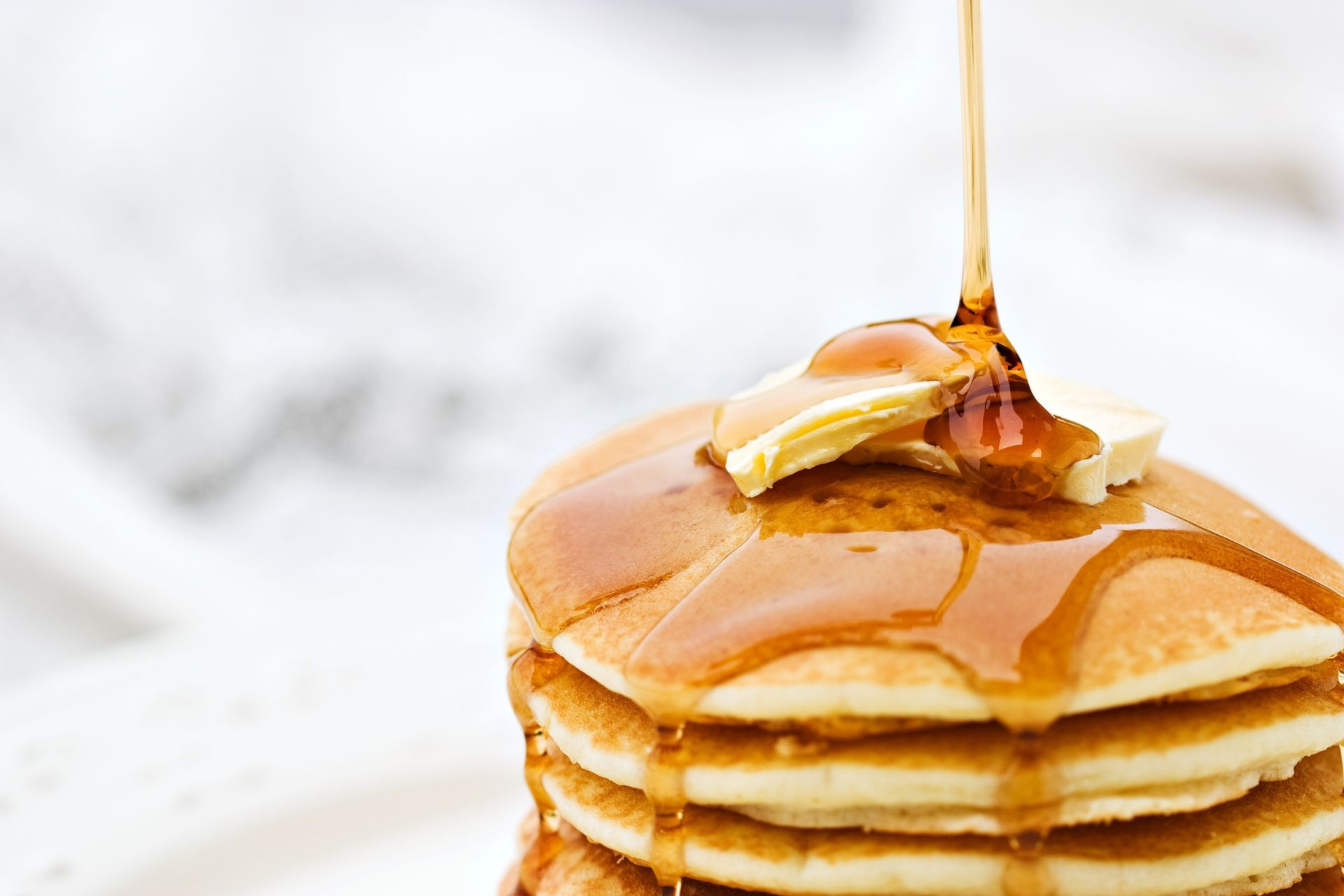 food honey butter Shrove Tuesday Pancakes