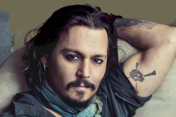 fashion johnny depp actors johnny depp tattoo