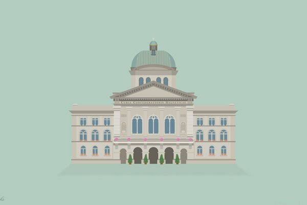 Vector Art Bundeshaus