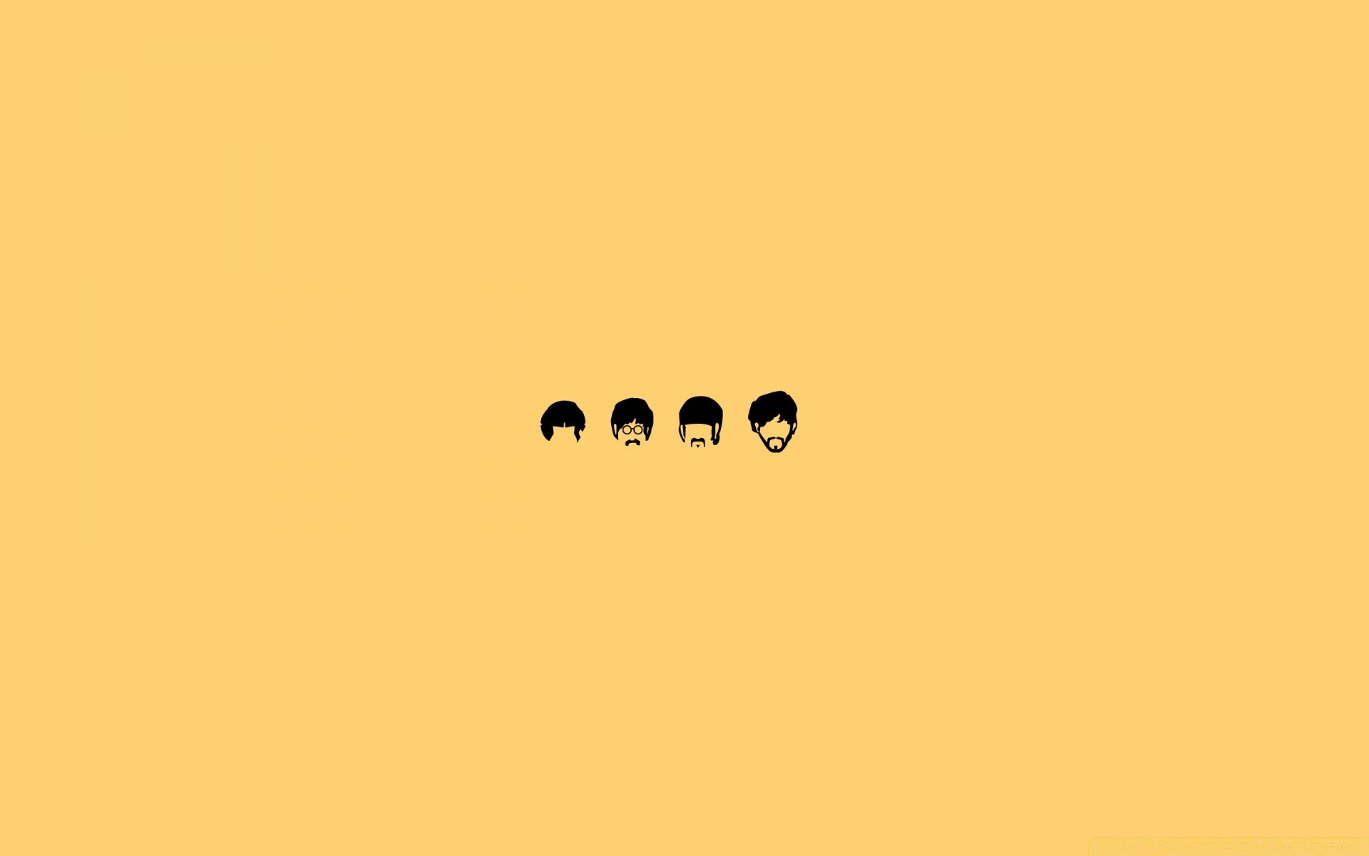 The Beatles Cartoon IPhone Wallpapers For Free