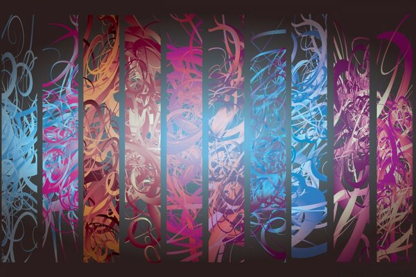 Abstract Vector Art