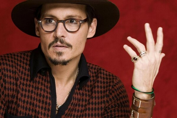 fashion depp actors johnny depp tattoo johnny