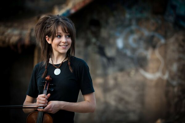 Lindsey Stirling violin violinist violin Lindsey stirlin