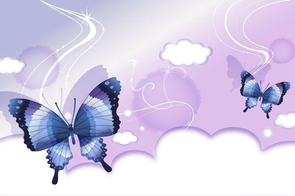 Butterflies Illustration 3