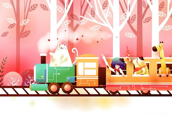 Childhood Fairytales Train