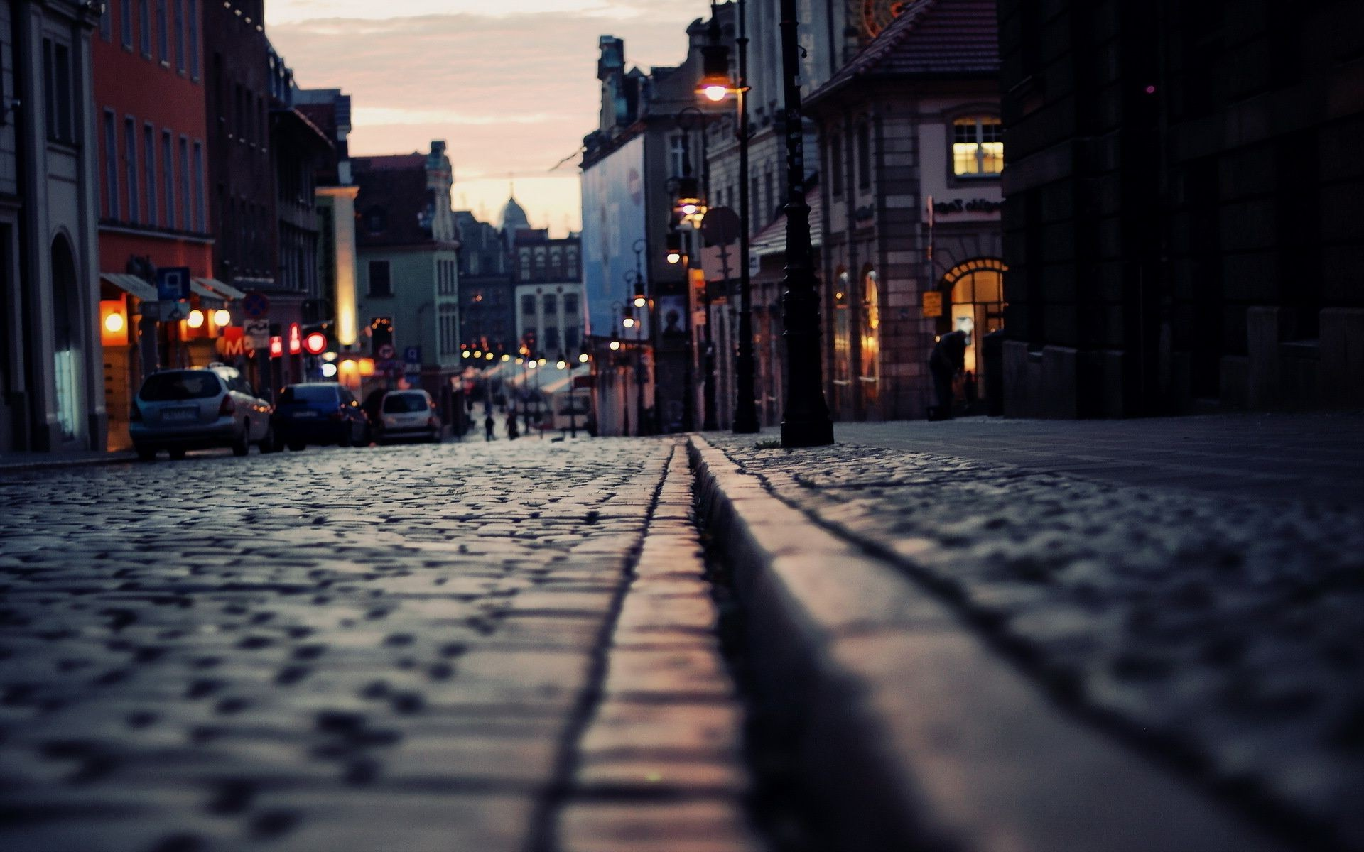 Street City Night Android Wallpapers For Free