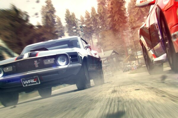 grid 2 race the speed more road