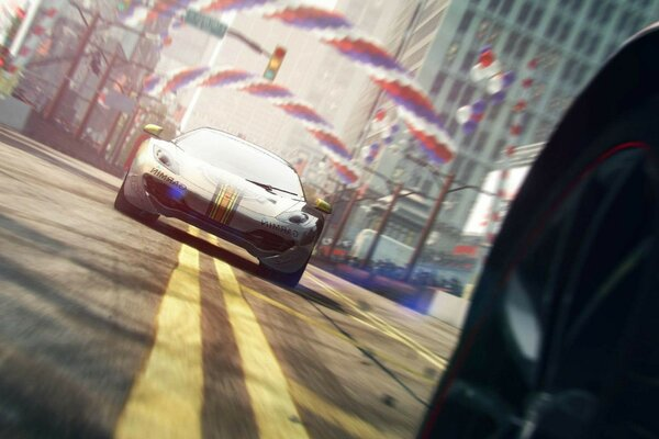 grid 2 road speed race to some