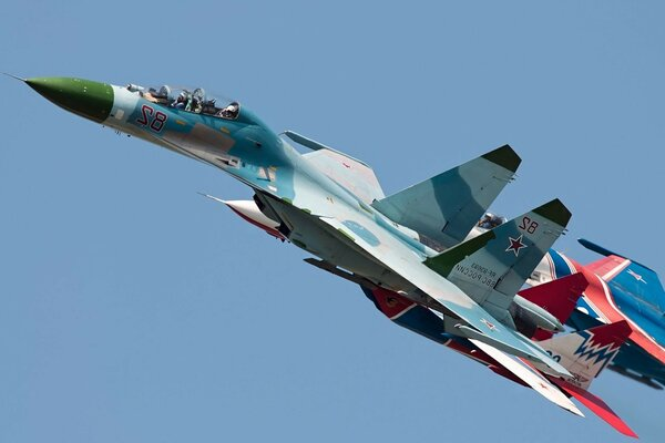 su-27 air force Aircraft