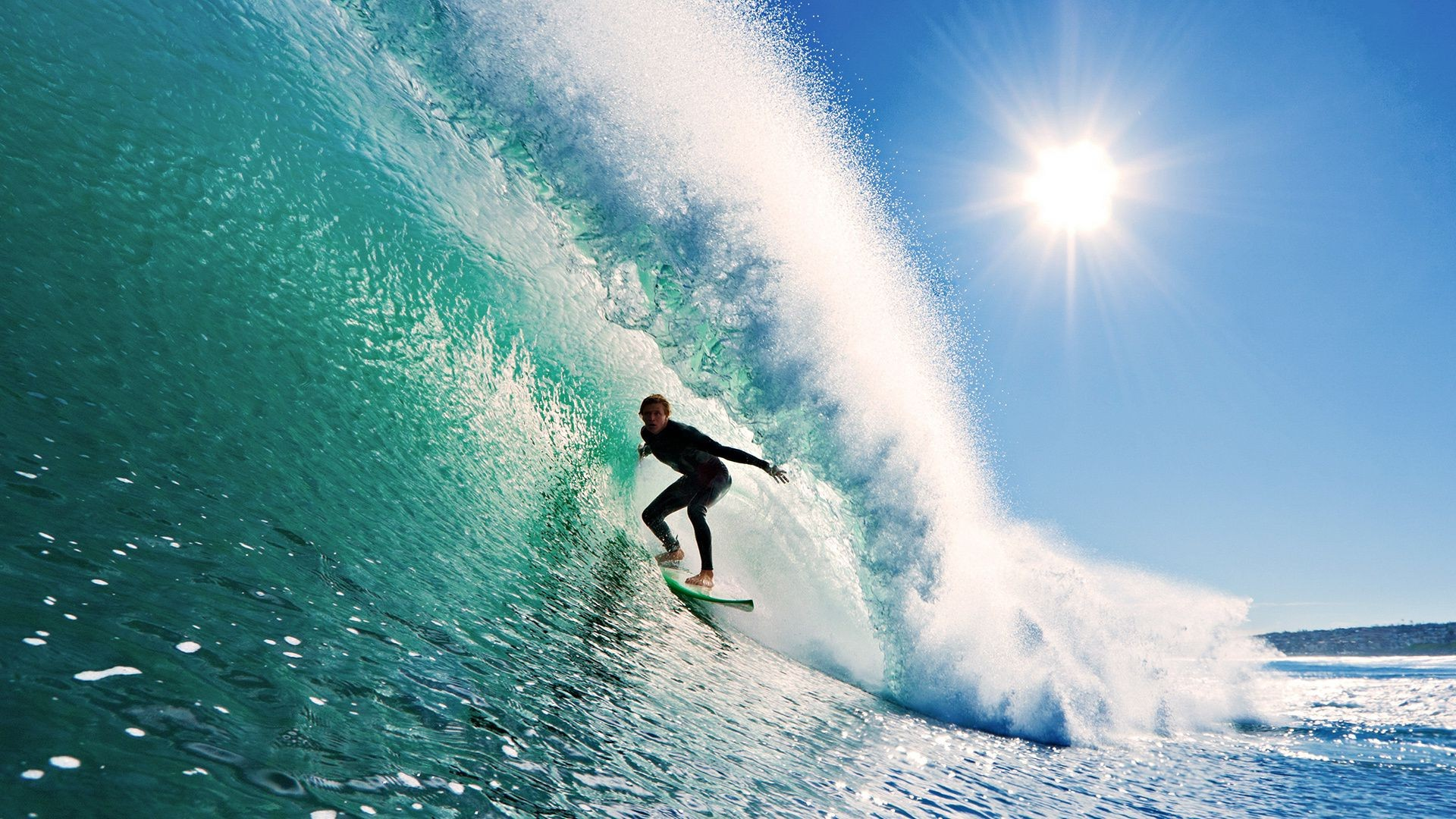 Sports Wallpapers For Android: Surfing The Wave Of The Sun, The Sky. Android Wallpapers