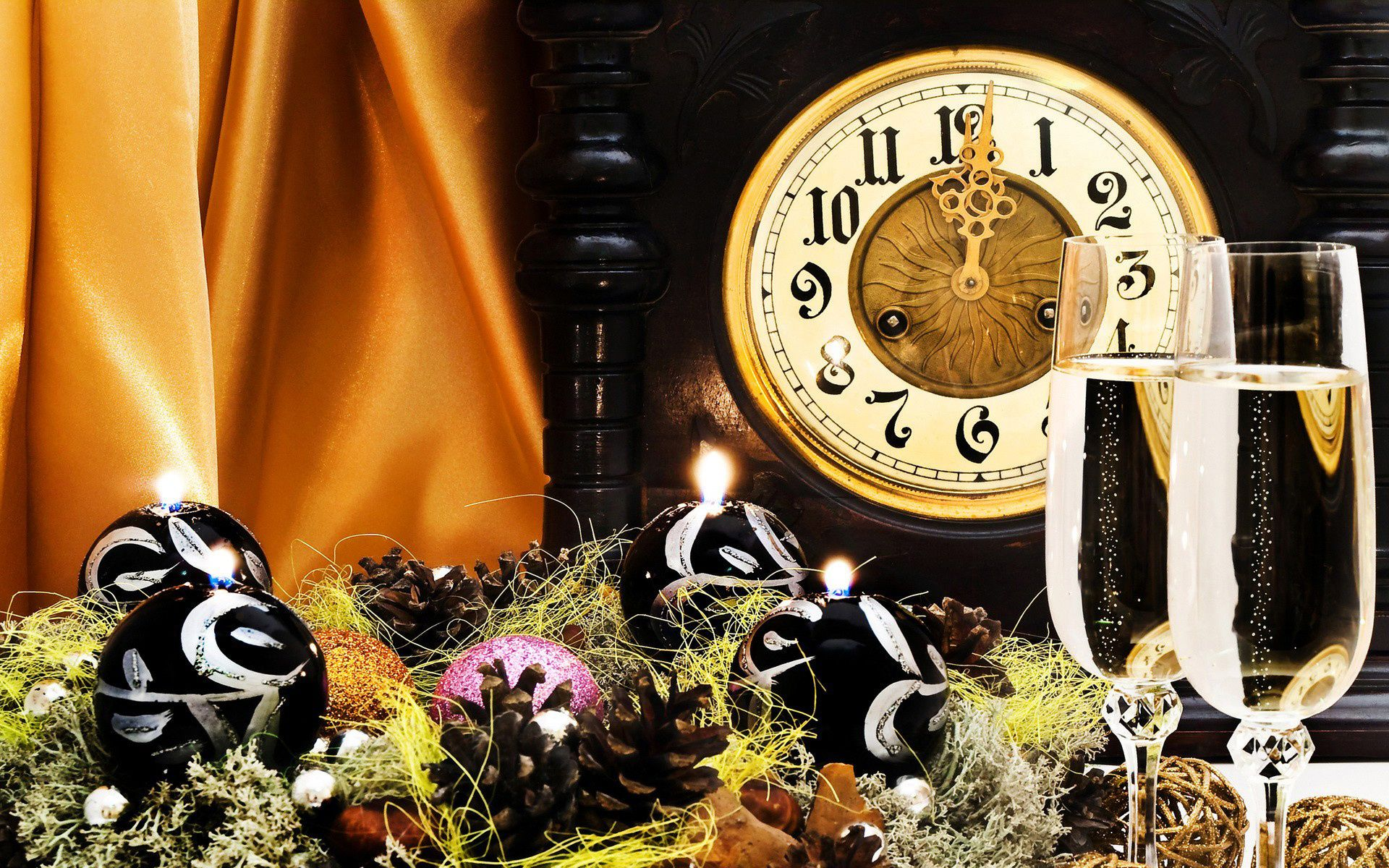 watch toy New year garland decoration holiday
